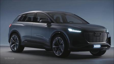 快速充电技术30分钟内完成80%!2019日内瓦车展奥迪Q4 E-Tron登场!