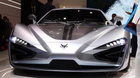 北汽新能源逆天打造ARCFOX GT跑车,千匹动力2.59秒破百,野性十足超赞
