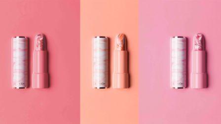 Lancôme推出粉红云石纹唇膏 全新限量瑰丽丰盈亮唇膏闪亮登场