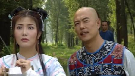 皇上陪女孩在山里放风筝,没想到看见了她,皇上被吓得转身就跑