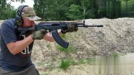 AK系列里的不同种类枪械射击,会有什么区别?