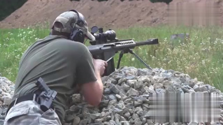 M107式远程狙击步枪,非常棒的狙击枪 可惜我等只能过过眼瘾了!