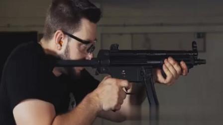 MP5快速换弹射击,枪械发出的声音听了真舒服