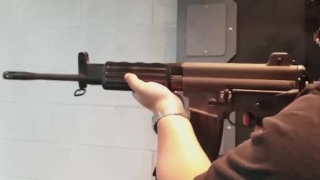 靶场测试AR-110C,这把枪和你见过的哪把枪很相似呢?仔细看!