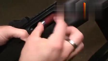 恶棍霰弹枪,上子弹的声音有点美妙,仔细听!