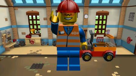 乐高城市赛车 5工程师开工程车 儿童游戏玩具积木拼装