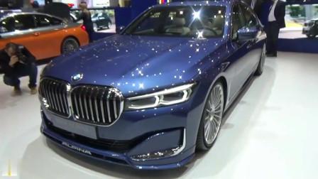 2019日内瓦车展:2020款宝马Alpina B7亮相,外观与内饰高清展示