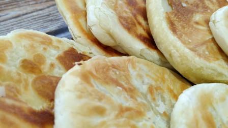 油酥饼简单做法小窍门,金黄酥脆,好吃美味