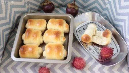 风靡网络的超软拉丝面包卷, 好吃到爆!