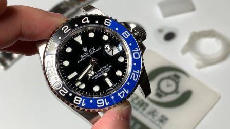 【金子讲表】格林尼治蓝黑圈904不锈钢V9升级版腕表测评
