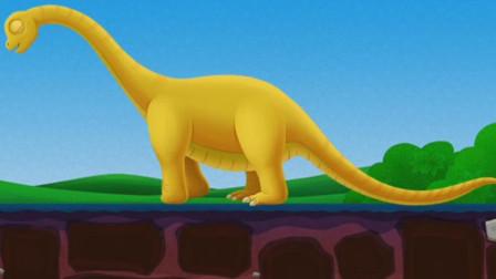 儿童恐龙游戏 打地鼠,敲恐龙?拼装恐龙化石复活远古霸主吧