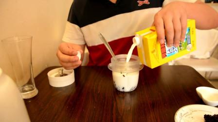 一分钟get秒杀【猴菇米稀】的酸奶紫米露,简单做法带来营养美味!