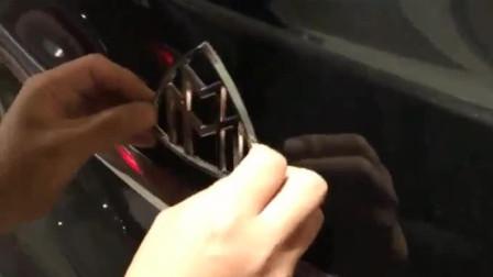 奔驰车标和迈巴赫车标有啥区别?拆下来那一刻见证霸气!