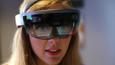 微软再出黑科技,完美连接虚拟、现实,戴着眼镜也能使用