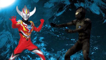 欧布奥特曼爆炎形态VS青铜像佐菲!奥特曼格斗进化0修改皮肤之力!