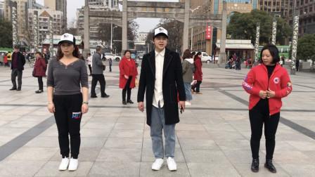 广场上流行的鬼步舞,其实就2步,没事跳一下,一天都精神!
