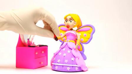 自制创意特效动画:为芭比娃娃打造一款漂亮的蝴蝶裙子