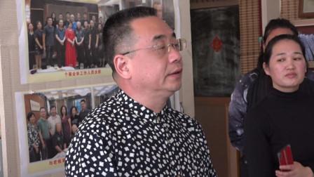 尹戈先生在北京再阳光书画院社会大讲堂授课