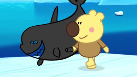 小小画家熊小米动画片, 就让小小画家熊小米给大家画一只虎鲸吧