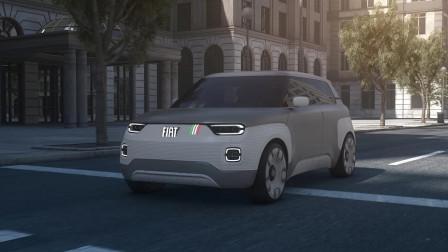 超级酷炫的菲亚特概念车Centoventi亮相