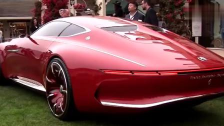 迈巴赫6概念车真是太酷了,这车确实不是宝马奥迪能比的!