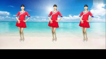 广场舞《爱的天堂》时尚舞蹈节奏轻快,好听又好看!