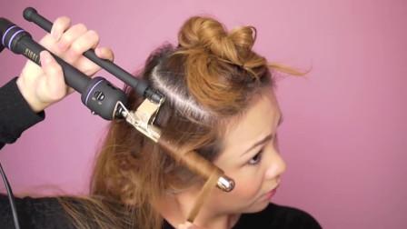 发量少就这样扎,秒变贵妇超显高级感,中年女人必备约会下午茶发型哦