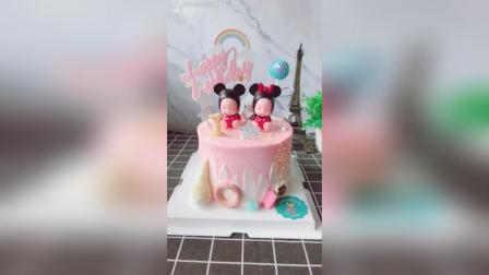 米奇宝宝生日蛋糕