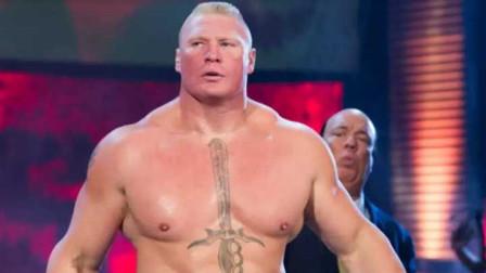 WWE野兽布洛克莱斯纳最凶残的时刻 !