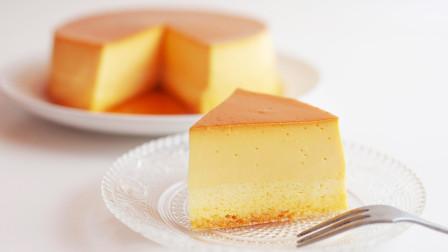焦糖布丁轻乳酪蛋糕的做法 视频最后有用量