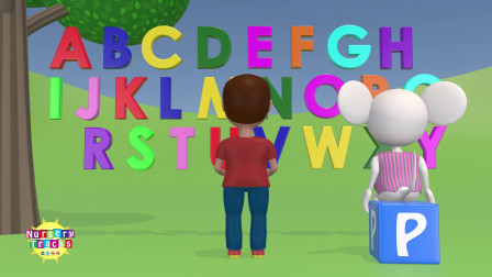 3D版!ABC字母组词歌