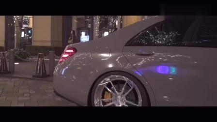 极致优雅的奔驰S级的AMG,太奢侈了!
