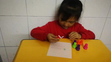 印章玩具视频 小猪佩奇奇趣蛋印章玩具
