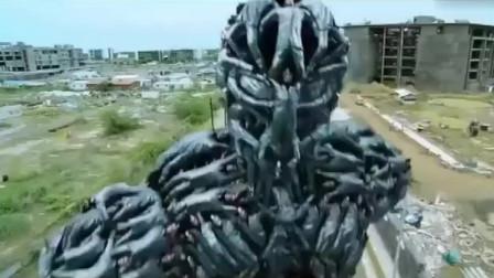 印度阿三花16亿拍摄的机器人电影,来告诉你什么叫夸张,颠覆你的想象力