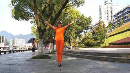鬼步舞《桃花情缘》时尚舞蹈4组花式有教学