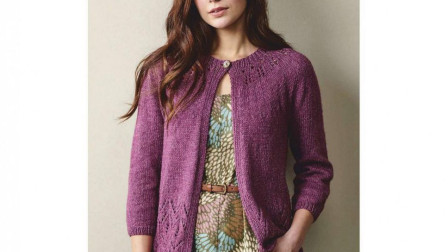 衣服下摆花样这样织,漂亮的春款开衫轻松搞定怎么织毛线编织法