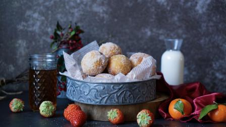 我的日常料理 第二季 详细步骤教你制作爆浆意大利迷你草莓奶酪爆浆甜甜圈