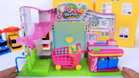 牛牛玩具镇趣味玩具故事 收银台玩具试玩