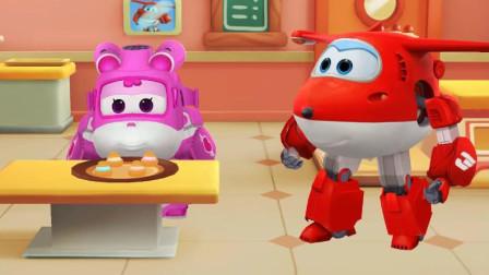 超级飞侠:乐迪的手工DIY蛋糕店,和孩子们一起来制作美味的泡芙蛋糕吧!