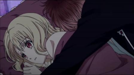 魔鬼恋人:半夜小森唯突然感觉到床动了一下,回头一看才发现是他