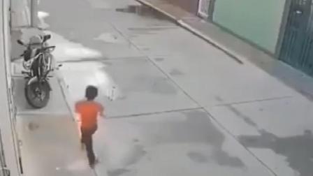 孩子小心!