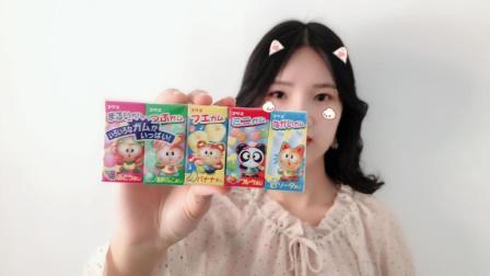 """试吃超迷你的""""水果味泡泡糖"""", 5种口味, 满足你对泡泡糖的所有幻想"""