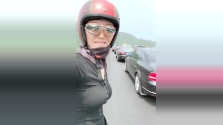 机车摩托:香车美女,不如机车靓妹,美滋滋