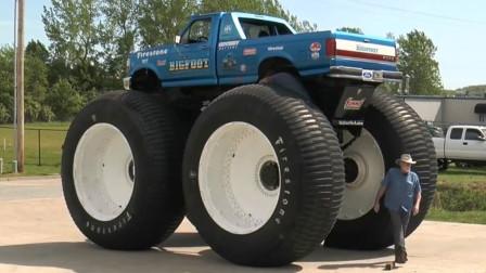 世界第一最高, 轮胎最大的自行改装车