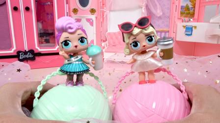 惊喜娃娃玩具拆蛋试玩 LOL惊喜娃娃拆拆球出奇蛋盲盒娃娃