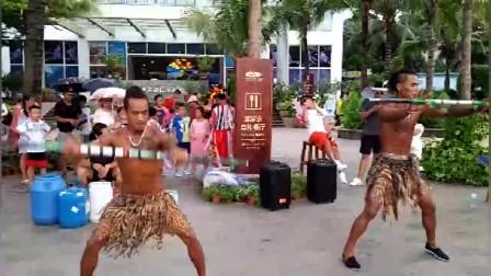 这是什么部落的舞蹈?在蜈支洲岛上看到的表演