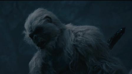 搬山魁首一矛扎死猿王,拧下尸王头颅,完成双杀