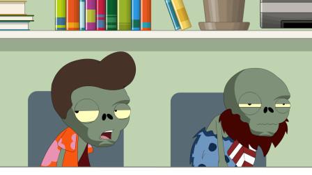开会不要打电话-植物大战僵尸搞笑动画