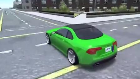 豪华跑车BeamNG:超级跑车模拟通过1000个减速带这是在开玩笑吗