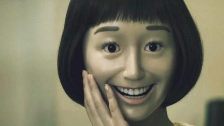 女孩有一张奇怪的脸,以为是面具,打碎后发现更可怕的事实